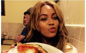 ביונסה פיצה (צילום: instagram ,instagram)