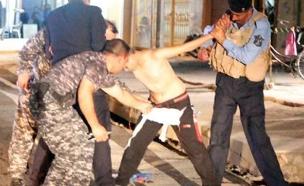 ילד בעירק שנתפס עם חגורת נפץ (צילום: חדשות 2)