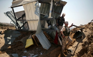 התקיפה הישראלית בעזה (צילום: רויטרס)