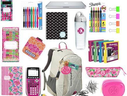 קניות לבית הספר אונליין (יח``צ: pinterest ,צילום מסך)