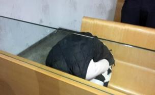 הנאשמת בבית המשפט, הבוקר (צילום: חדשות 2)