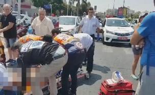 תאונה בראשון לציון (צילום: חדשות 2)