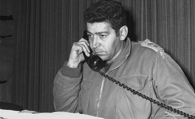 """בנימין (פואד) בן-אליעזר (צילום: ארכיון צה""""ל במשרד הביטחון)"""