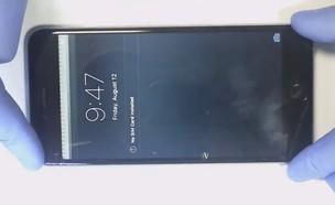 תקלה במסך אייפון 6 פלוס (צילום: STS Telecom)