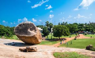 סלע כדור החמאה בהודו (צילום: Svetlana Eremina, Shutterstock)