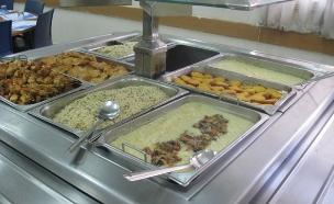 """חדר אוכל צבאי, ארכיון (צילום: דובר צה""""ל)"""