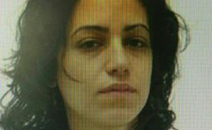 תמונת החשודה שפרסמה המשטרה