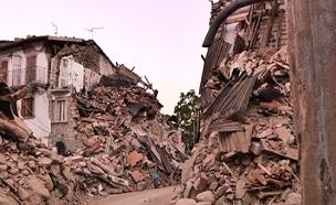 חזרה לכפרים שנהרסו ברעידת האדמה באיטליה (צילום: חדשות 2)