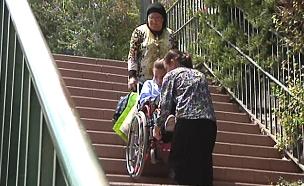 נגישות לנכים בבית ספר (צילום: חדשות 2)