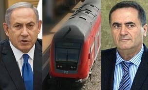 נתניהו ישראל כץ רכבת ישראל