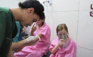 ילדים רבים נפגעו במתקפה כימית