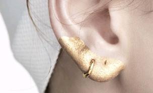 איפור אוזניים (צילום: אינסטגרם ,מעריב לנוער)