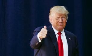 """""""דאע""""ש מתפללים שיהפוך לנשיא"""". טראמפ (צילום: רויטרס)"""