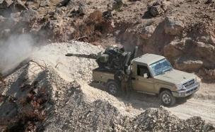 המורדים מנסים לפרוץ דרך לדמשק (צילום: רויטרס)