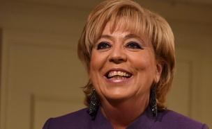ראש העיר נתניה מרים פיירברג (צילום: חדשות 2)
