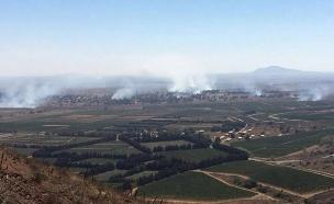 פיצוצים בגבול סוריה. ארכיון (צילום: חדשות 2)