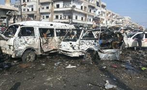 הפצצות בסוריה. ארכיון (צילום: רויטרס)