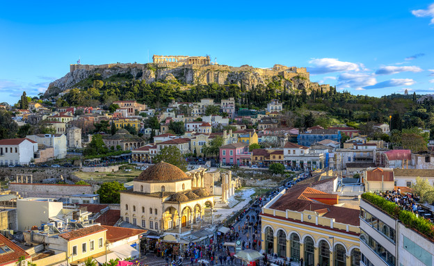 האקרופוליס ביוון (צילום: Anastasios71, Shutterstock)