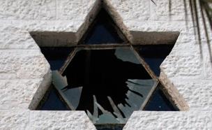 """""""התגברות ההתנכלויות ליהודים"""" (ארכיון) (צילום: רויטרס)"""