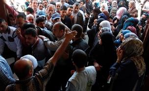 לא ממתקים - הפליטים בסוריה (צילום: רויטרס)