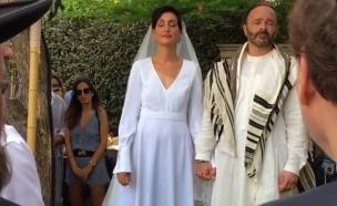 נטלי עטיה התחתנה, ספטמבר 2016 (צילום: instagram)
