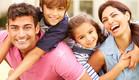 משפחה מאושרת (אילוסטרציה: thinkstock ,thinkstock)
