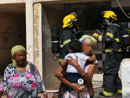 עומר ג'ומעה (צילום: דוברות כבאות והצלה)