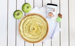 טארט תפוחים (צילום: ענבל לביא)