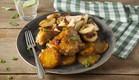 שוקי עוף ברוטב צ׳ילי מתוק ואננס  (צילום: אפיק גבאי ,אוכל טוב)