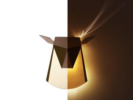 עיצוב זהב, גוף תאורה בעיצוב ישראלי (צילום: יחצ)