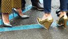 טרנד נעליים מטאליות (צילום: מתוך הבלוג)