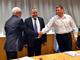 החתימה על ההסכם, היום (צילום: משרד הביטחון)
