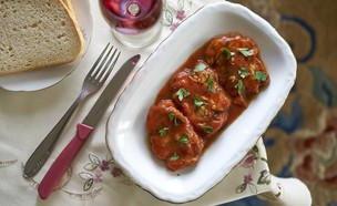 מוח בעגבניות של לינה אלעזר (צילום: אנטולי מיכאלו ,אוכל טוב)