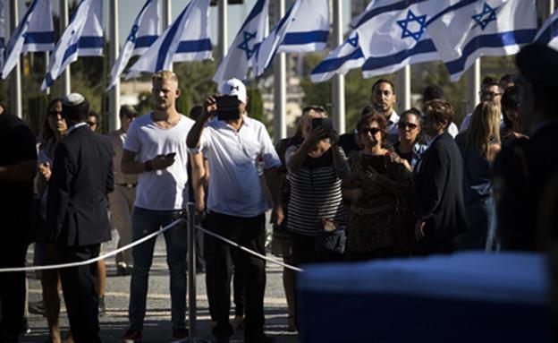 ישיר: אלפים במשכן הכנסת (צילום: Hadas Parush \ פלאש 90)