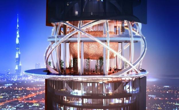 מלון חדש בדובאי (צילום: The Rosemont Hotel and Residences )
