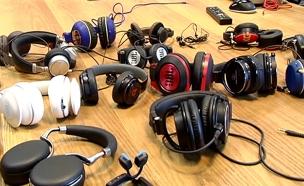 """""""טכנו"""": צפו בכתבה המלאה על שוק האוזניות (צילום: חדשות 2)"""
