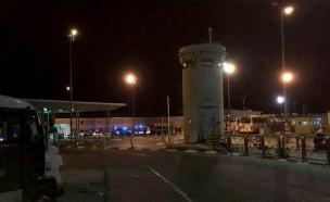 זירת הפיגוע בקלנדיה