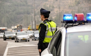 שוטרים פרוסים ברחבי הארץ (צילום: חטיבת דובר המשטרה)