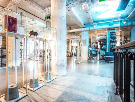 חנויות13, חמש קומות של חנויות קונספט (צילום: mysia3.pl)