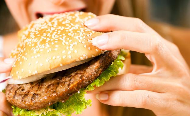 המבורגר (צילום: shutterstock: Kzenon)