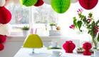 סוכות08, מגוון קישוטי נייר צבעוניים, מחיר-בין 19-59 שקל (צילום: יחצ איקאה)