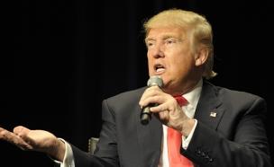 """""""הלצה של חדר הלבשה"""", טראמפ. (צילום: רויטרס)"""