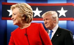 דונלד טראמפ ואשתו מלאניה (צילום: רויטרס)