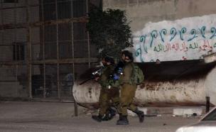 כוחות הביטחון בפעילות ליד בית המחבל מי-ם