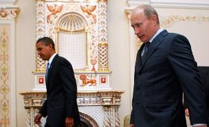 ברק אובמה, ולדימיר פוטין (צילום: רויטרס)