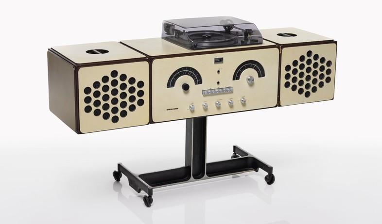 מכירה פומבית בואי, אקילה ופייר ג'אקומו קסטיליוני,  Radio-phonograp (צילום: Sotheby's)
