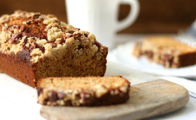 עוגת סילאן עם שטרויזל פקאן (צילום: קרן אגם ,אוכל טוב)