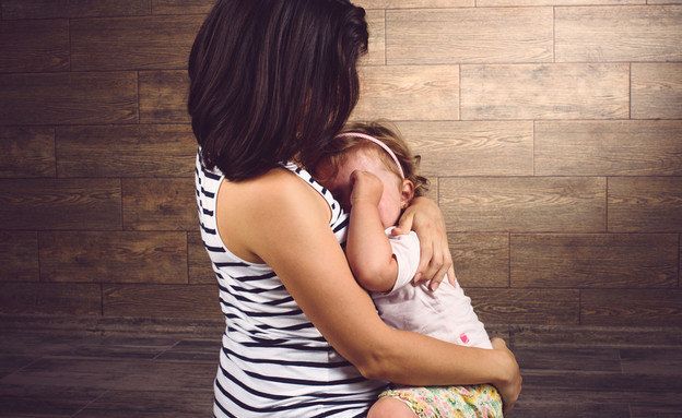 אישה עצובה בהריון (צילום: shutterstock)