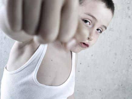 ילד מרביץ (צילום: shutterstock ,shutterstock)