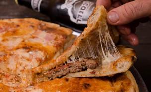 המבורגר פיצה (צילום: יפית בשבקין ,יחסי ציבור)